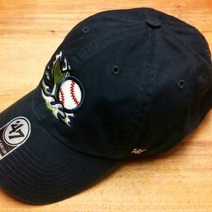 999ce438e57e1  47 Accessories - Gwinnett Stripers MiLB  47 Brand Clean-Up Adj. Hat.